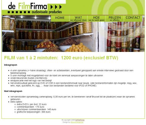 deFilmFirma screen 2