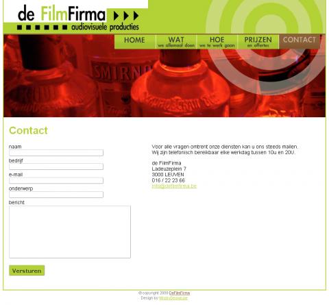 deFilmFirma screen 3